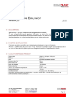 FT - mat de verre émulsion 300-450-600