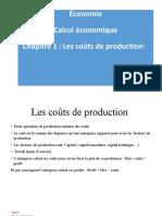 couts de production S2-S3