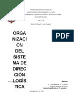 Taller de Organización Del Sistema de Direcciòn Logística, Jorge Bastidas 27145833