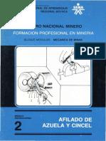 AFILADO DE AZUELA Y CINCEL