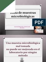 Toma de Muestras en Microbiologia