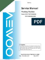 dwf750 manualul mașinii de spălat daewoo