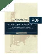 Recursos Procesales Civiles - Hector Oberg Yañez