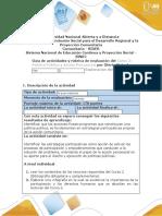 Guia de actividades y rúbrica de evaluación - Fase 2 - Exploración del Contexto