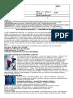 APC de Ed. Física  1° e 2°
