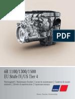 Maintenance Booklet OM470LA, OM471LA, OM473LA 6R-1100, 1300, 1500 A4705840393_multilingual