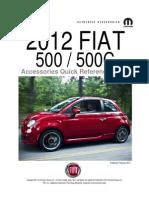 Fiat500USA-Fiat 500 Accessories