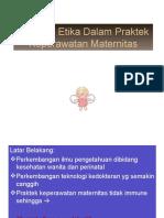 MASALAH ETIK & RISET KEP. MATERNITAS - Copy