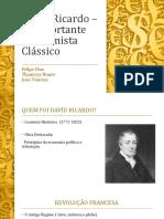David Ricardo – O Importante Economista Clássico (1) (1)
