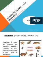 Sistematica Classificacao e Biodiversidade (1)