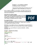 tableaux C++