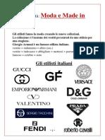 3- Moda e Made in Italy