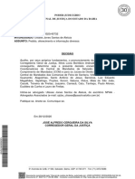 DECISÃO JOSÉ ALFREDO CERQUEIRA DA SILVA - CORREGEDOR GERAL DA JUSTIÇA