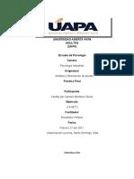 Trabajo final de analisis y descripcion de puestos