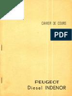 Cahier de Cours Peugeot Diesel Indenor