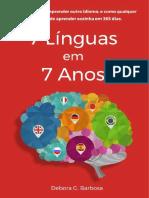 7 Línguas em 7 anos - Débora Barbosa