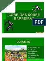 CORRIDAS SOBRE BARREIRAS