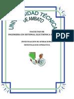 II. Modelo de Diseño y Programación de REDES PERT CPM GANTT 3.1. A 3.3.