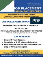 Job Placement Flyer