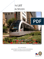 Final Report - COH Downtown Simulation