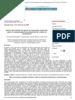 Efecto del tostado del grano de Canavalia ensiformis sobre el comportamiento productivo de cerdos en crecimiento