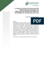 A utilização de tecnologias de prototipagem rápida no processo de desenvolvimento de produto