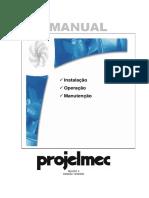 PROJELMEC -Manual Técnico de Instalação R0