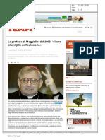La profezia di Maggiolini del 2005
