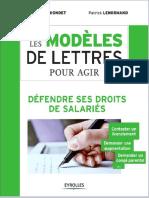Modeles de Lettres Pour Agir -Salaries