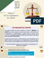TITULO X De los organismos de control (1)
