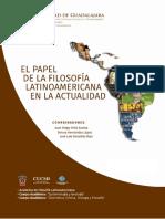 El Papel de La Filosofia Latinoamericana