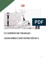 Ad184 Cuaderno de Trabajo Dirección Estrategica