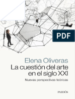 La Cuestion Del Arte en El Siglo XXI - Elena Oliveras