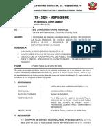 INFORME N° 173-2020-MDPNGIDUR conformidad exp tecn