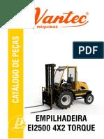 Catalogo Peças EI 2500 4x2 To...