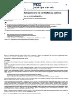 A Importancia Do Planejamento Na Contratação Pública - Jus.com.Br _ Jus Navigandi