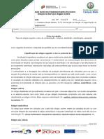Correção Da Ficha Dos Artigos Criticos ..