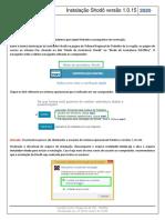 Instalação Shodô Versão 1.0.15 Versão 1