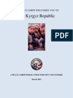 Peace Corps Kyrgyz Republic Welcome Book March 2011