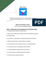 INTRODUÇÃO AO PROCESSO PENAL EBOOK 2021