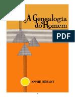 Besant, Annie - A Genealogia do Homem