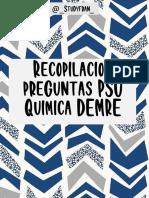 Recopilacion preguntas psu Quìmica demre (1)