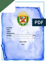 ALCANCES DEL INFORME POLICIAL