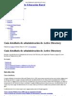 Guía detallada de administración de Active Directory   Instituto Superior de Educación Rural