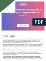 Aula 4 - Gerenciamento de Comunicação Integrada Em Projetos Digitais