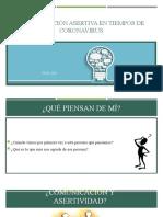 COMUNICACIÓN ASERTIVA EN TIEMPO DE CORONAVIRUS
