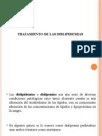 TRATAMIENTO DE LAS DISLIPIDEMIAS