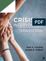 Crisis Intervention by Alan a. Cavaiola Joseph E. Colford