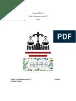 Cuadro Comparativo de El Estado de Derecho y de Los Derechos Humanos