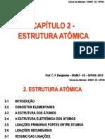 Capítulo 2 - Ciência dos Materiais UFRGS